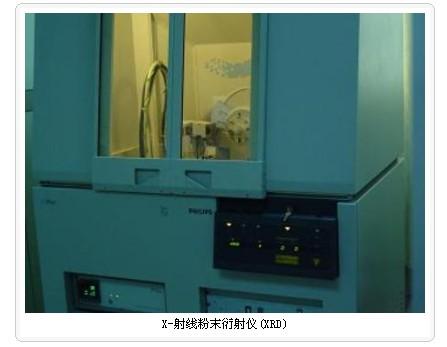 X-射线粉末衍射仪(XRD)